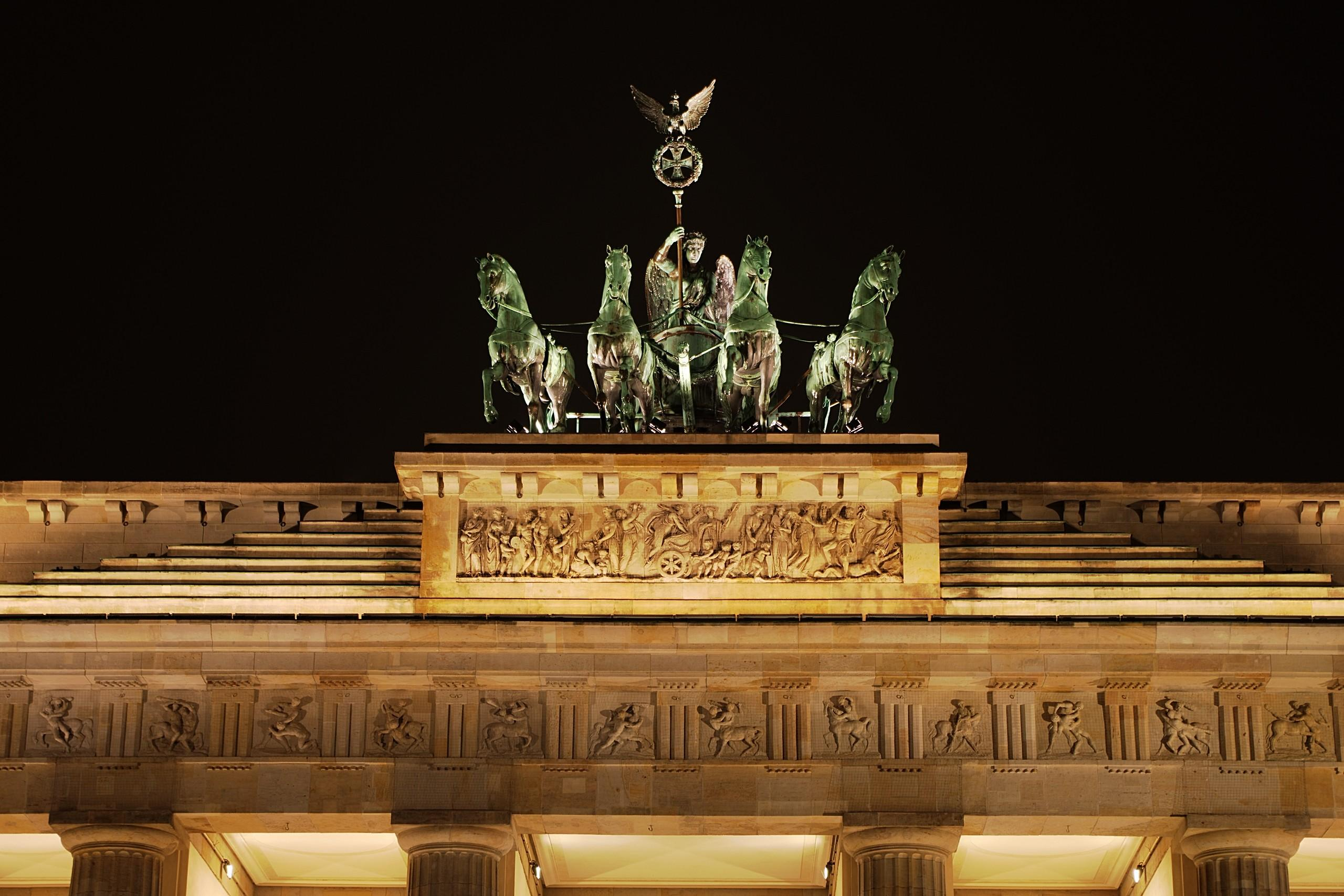 Quadriga at Night