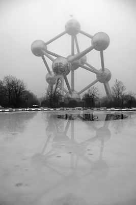 Reflected Atomium