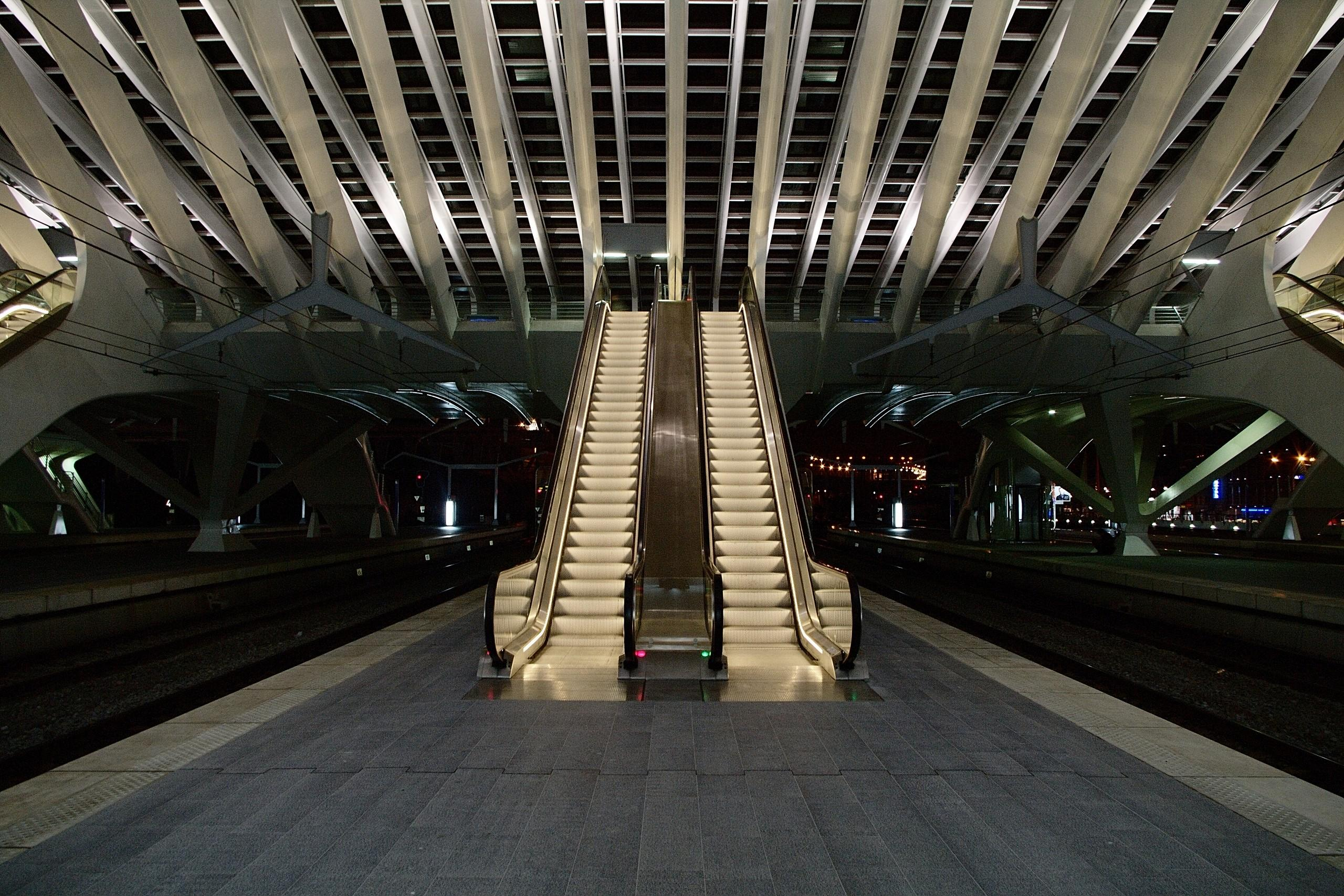 Pair of Escalators