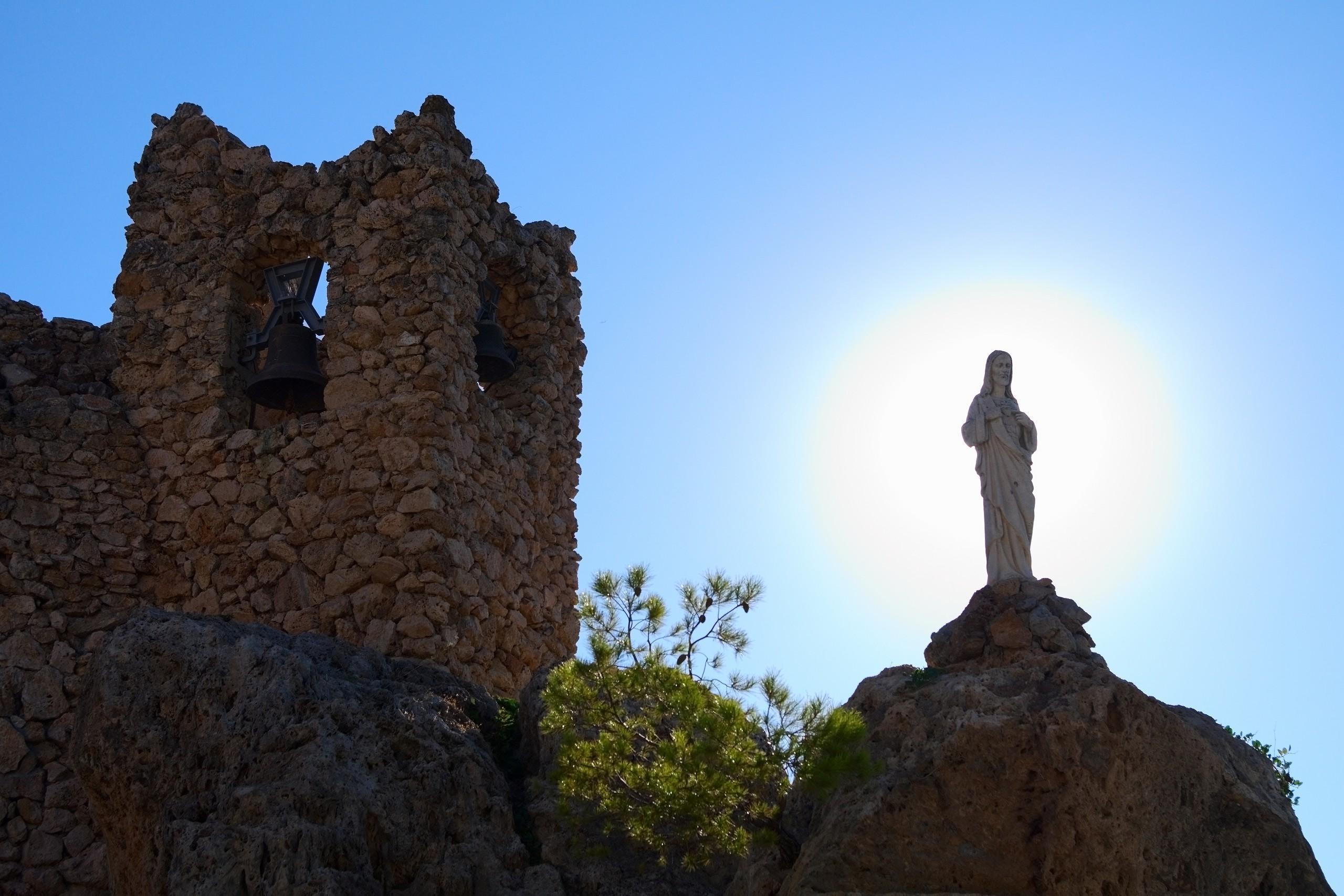 Virgin and Belfry gable