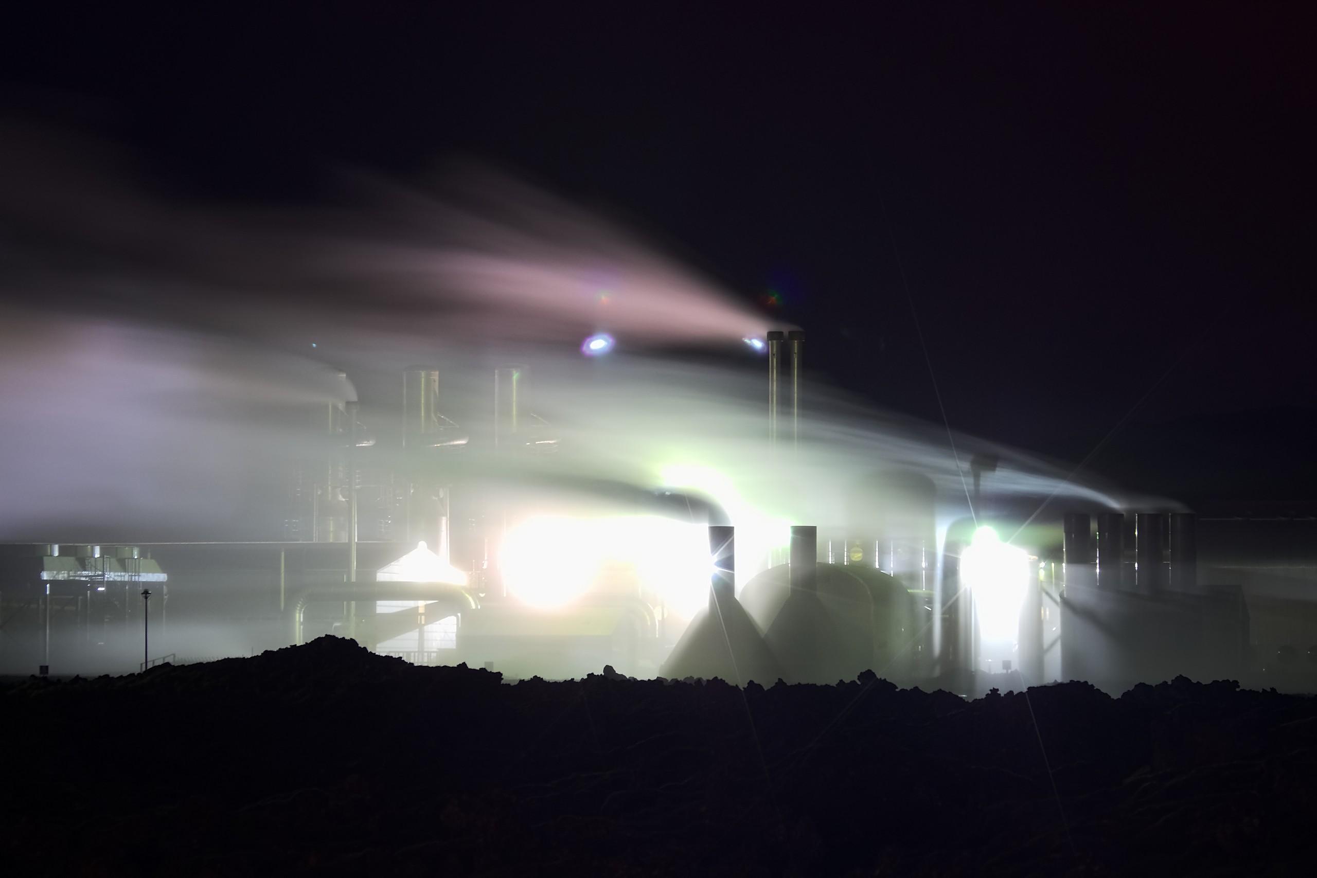 Illuminated Steam