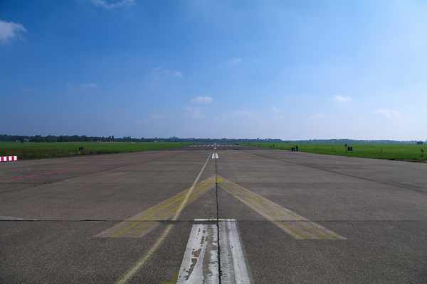 Runway at Tempelhof Airport